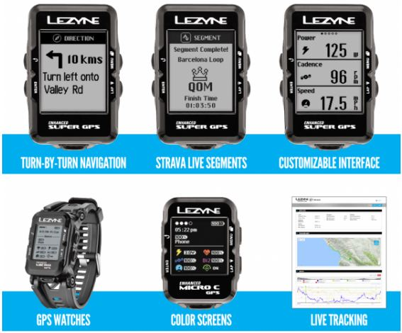 This year, Lezyne's range of GPS devices gets a number of upgrades.