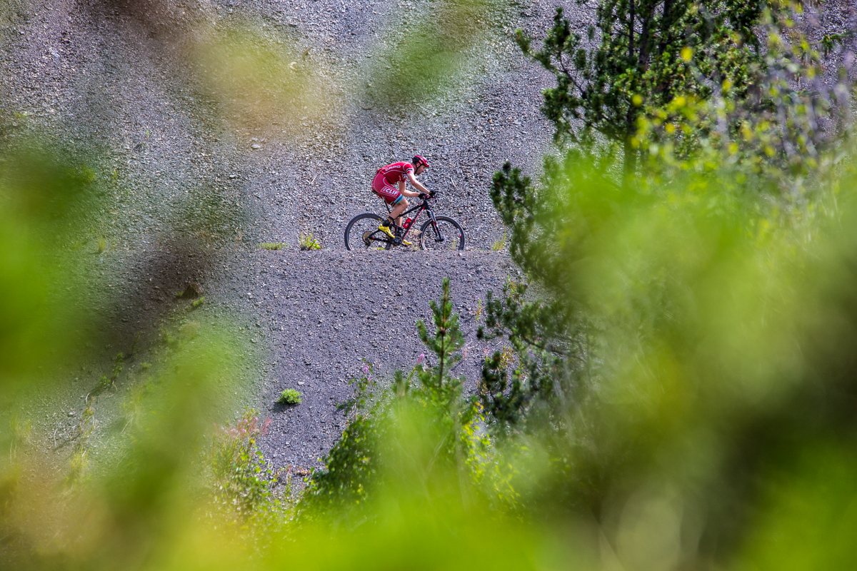 Troy Wells of Team Clif Bar is one of the riders coming off of the Leadville Trail 100 and getting their stage race legs under them. Wells came in fifth on stage two and sits in sixth overall at 16 minutes back. Photo by Liam Doran Photography