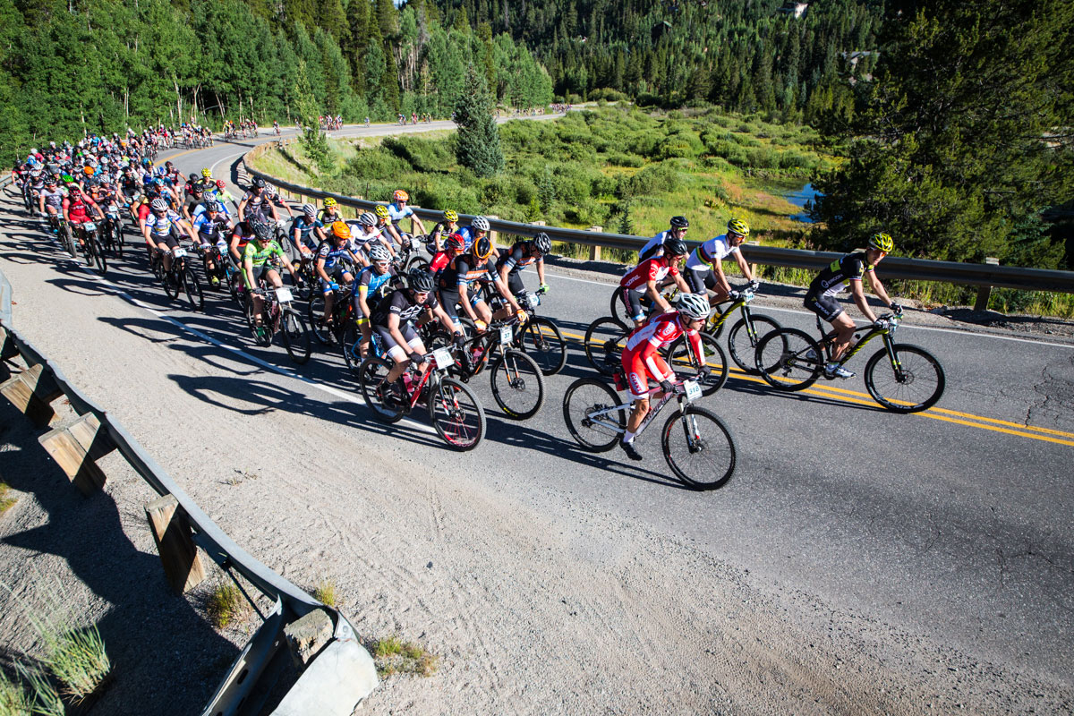 Starts are fast and usually uphill. Photo courtesy Breck Epic/Liam Doran