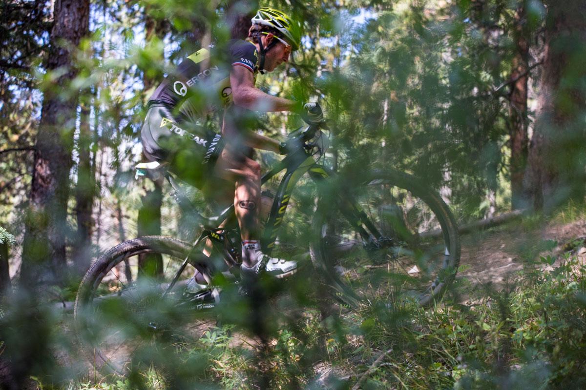 Stage 2 winner Kristian Hynek. Photo courtesy Breck Epic/Liam Doran