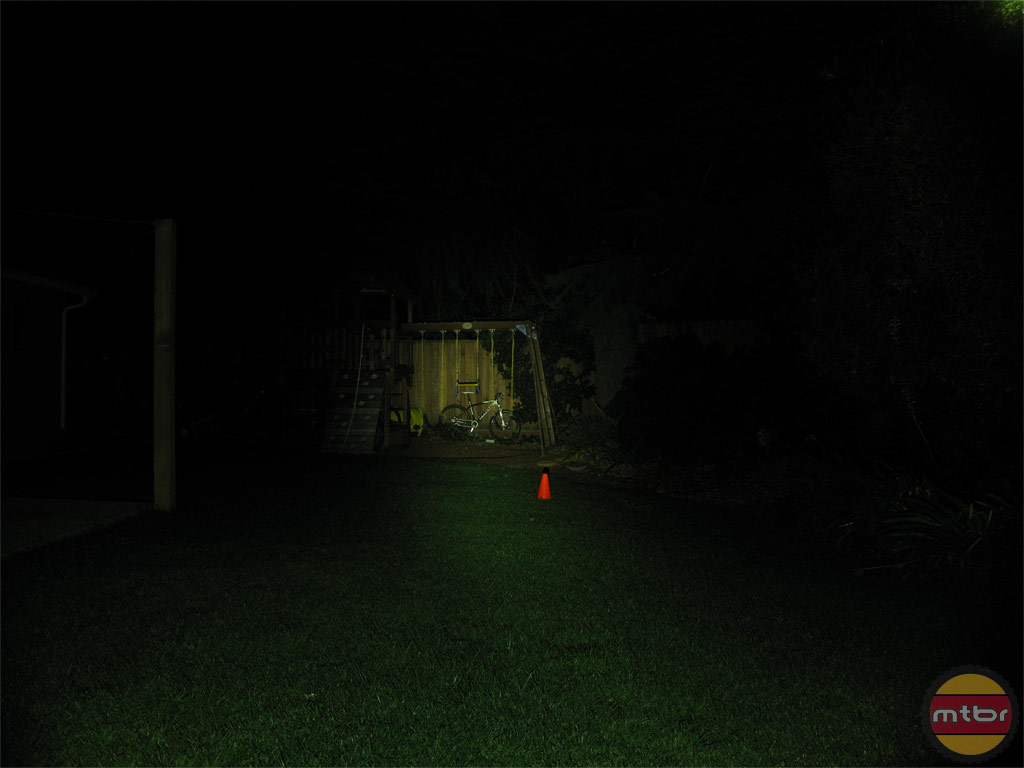 Light & Motion Vis360 Backyard Beam Pattern