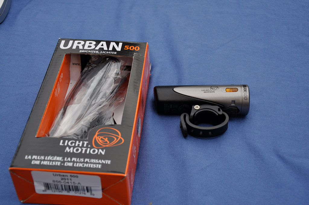 Light & Motion Urban 500