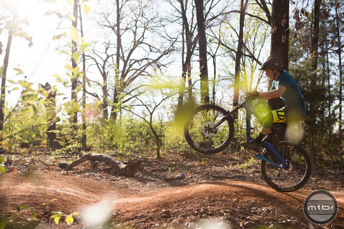 One of Bentonville's oldest recreation areas, Park Springs, is entering a new phase of life with a system of MTB trails.