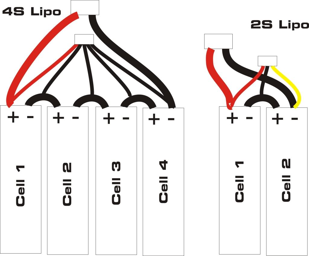 Review: 4 (2S2P) and 6 cell (2S3P) hardshell waterproof bicycle battery packs from GB-lipowiring-1.jpg
