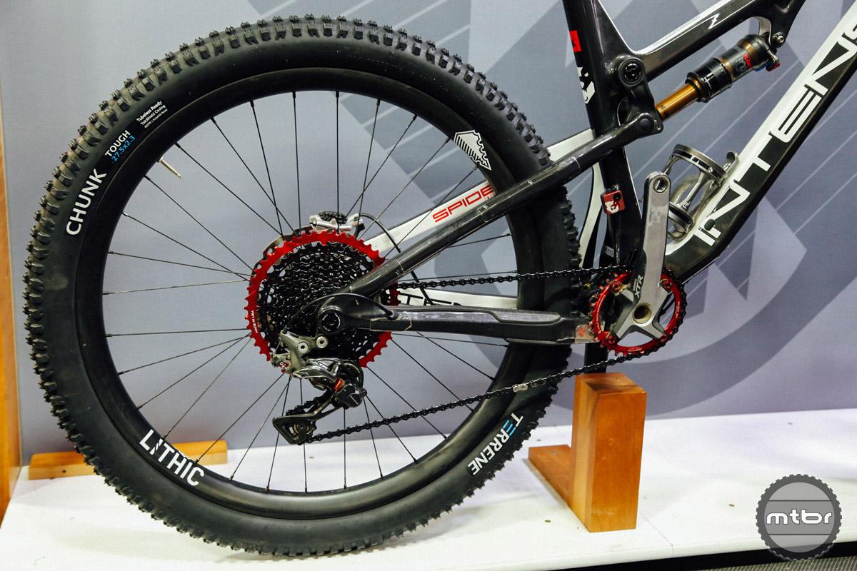 Carbon wheels.