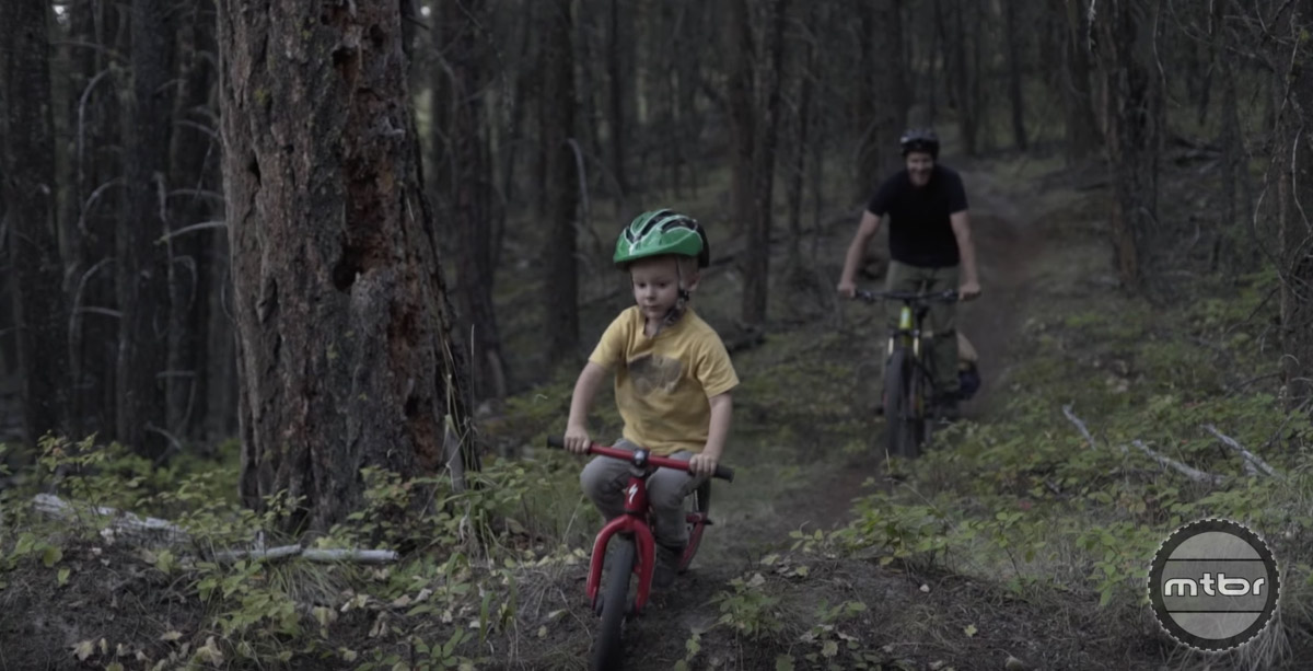 Just a couple pals, two bikes, and some sweet singletrack. What more could you ask for?
