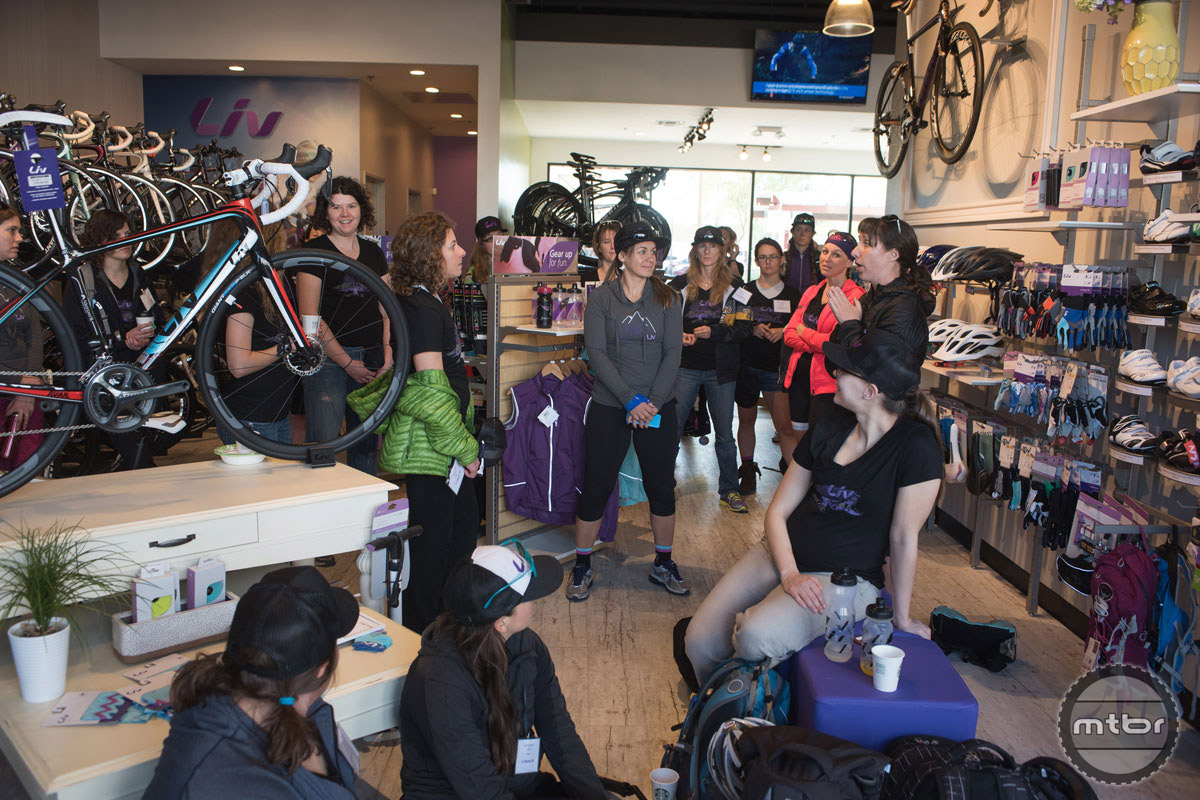 The Liv Ambassadors are a resource based in the local community for retailers and women and the events they lead like fix-a-flat clinics, bike maintenance and group rides give women tangible skills to be a more confident and independent cyclists.