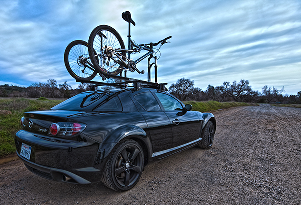 Do you think roof racks makes a sports car look sexier Mtbrcom