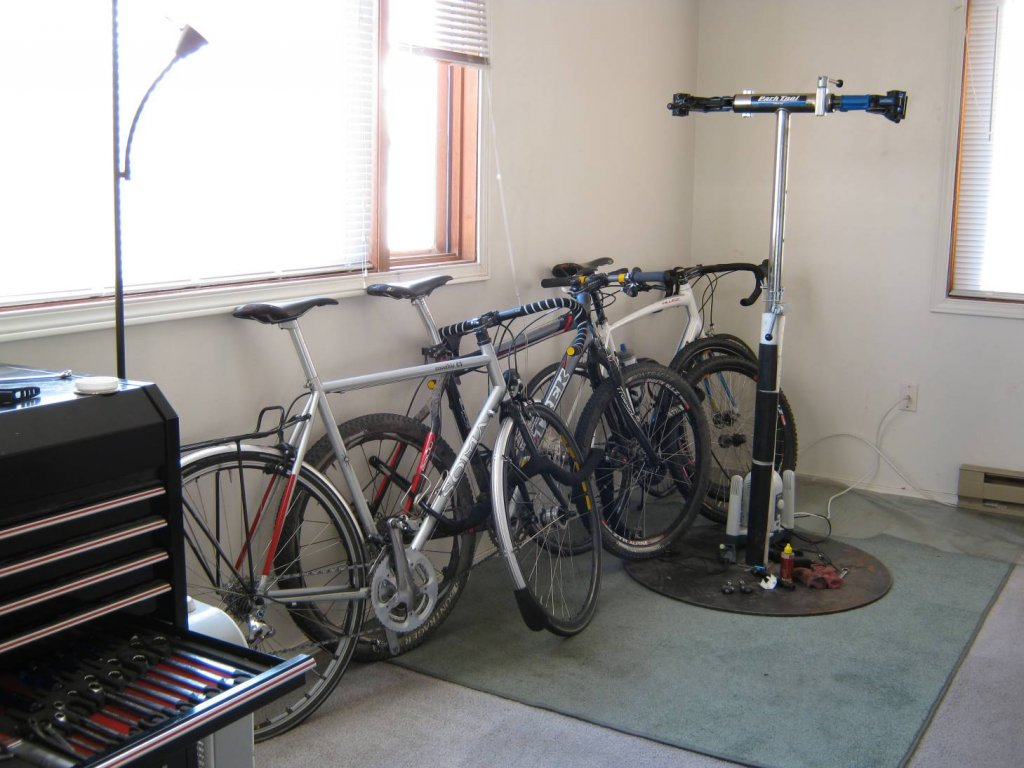 How do you all store the summer commuter?-living_room.jpg