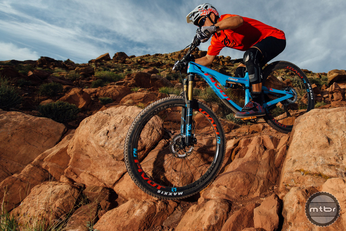 The Chester pedal endured numerous rock hits in Moab.