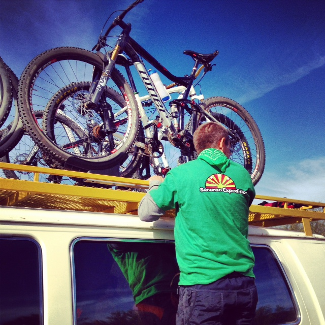 3 Day camping trip Black Canyon Trail, AZ-loadingbikes.jpg