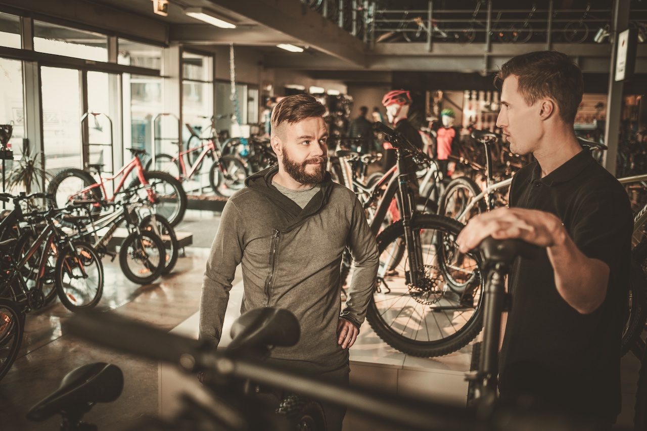 bike shop etiquette: Don't waste the time of the sales and service staff with myriad compatibility questions if you don't plan to purchase your parts from them.
