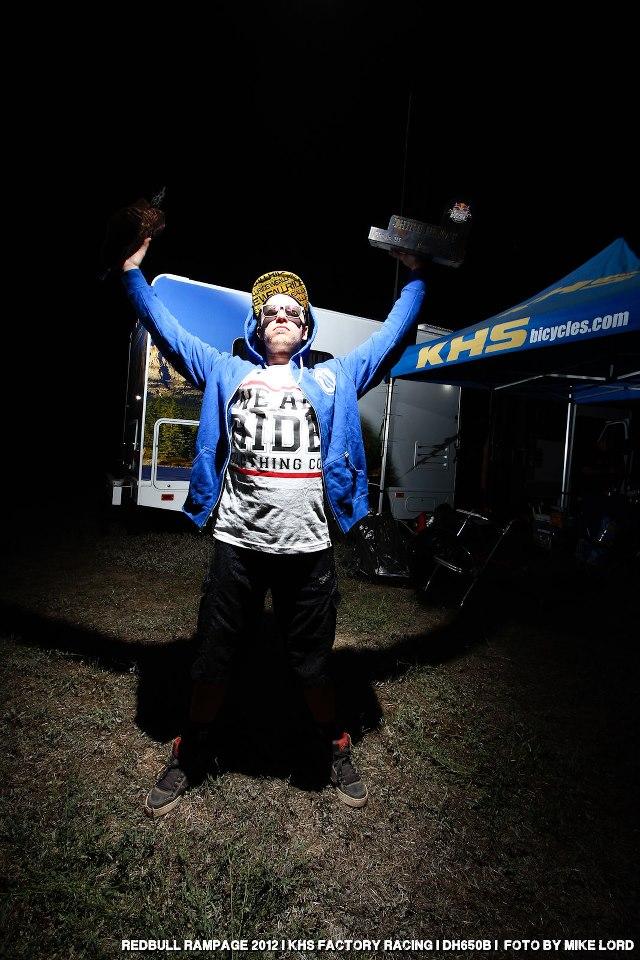 Logan Redbull Rampage 2012