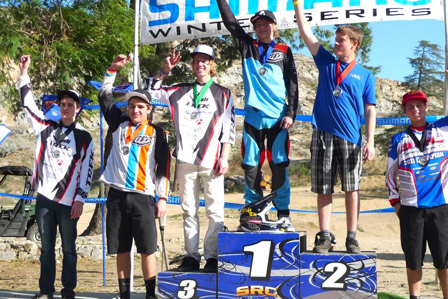 Logan 6th, Jason 3rd podium
