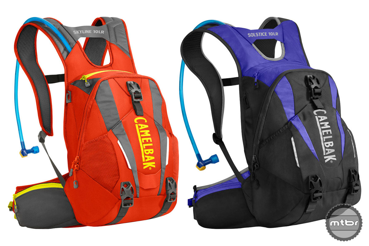 Each of these full-featured packs have expertly placed, easy-to-access pockets, and a tool roll to keep gear organized.