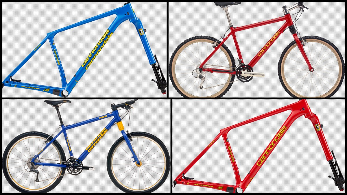 c854d211c2e Remember the glory days of Cannondale hardtails? They looked fast standing  still in blue or red garb, big aluminum tubes, and that distinctive  headshock ...
