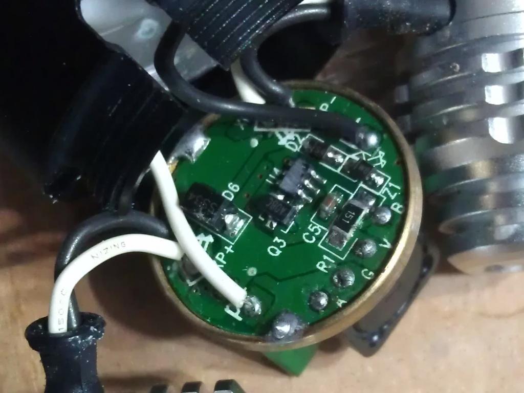 Color Cables For 2400 Lumens Cree Xm L T6 Led 2x Xpe R2 Led Bike