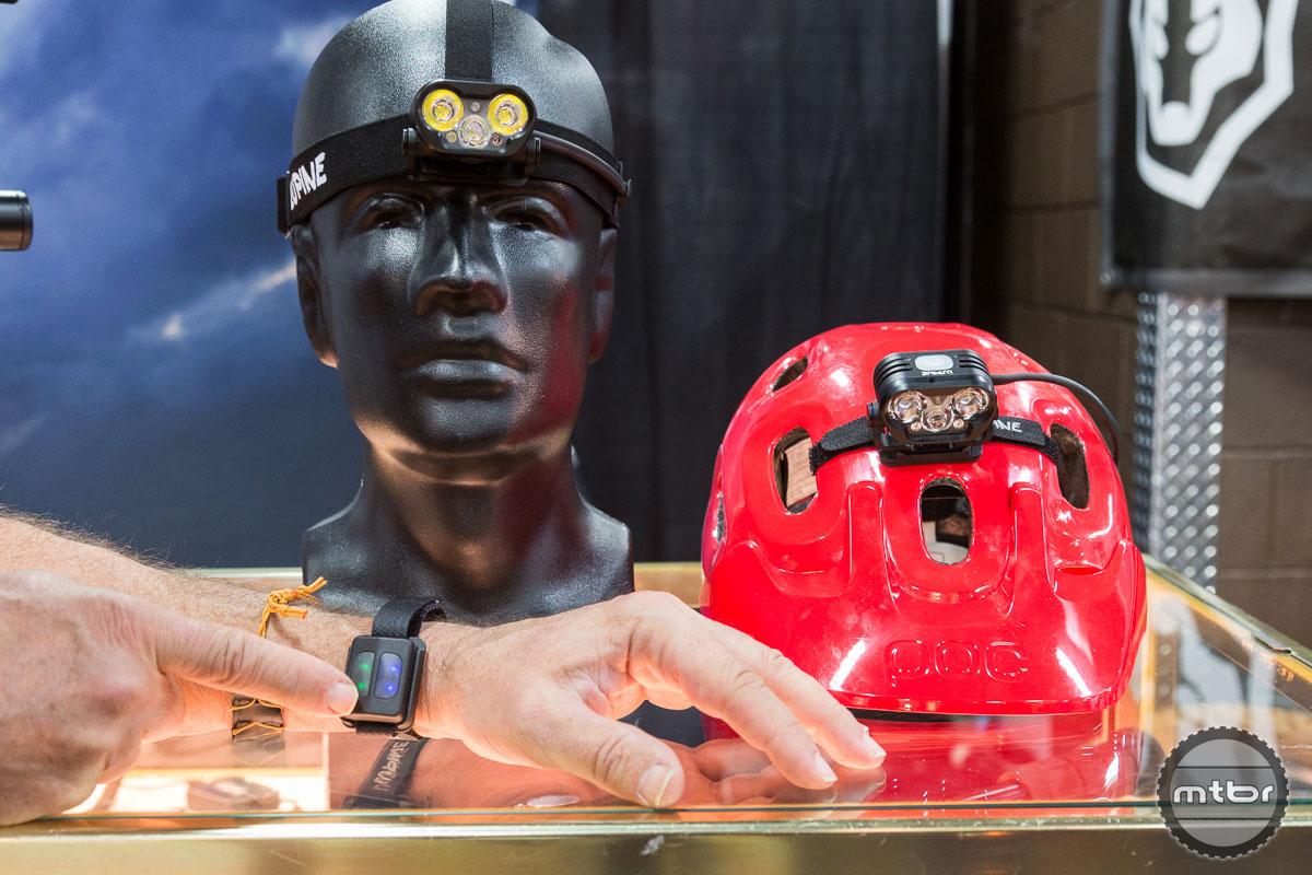Lupine Blika Light Headband Helmet Remote