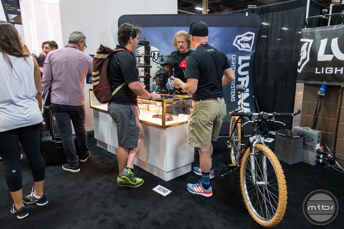 Lupine Lighting Interbike 2017 Booth