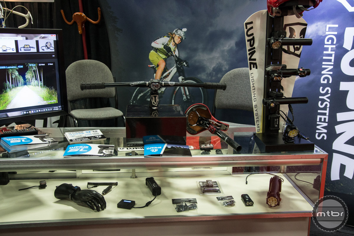 Lupine Lighting Interbike 2016 Booth