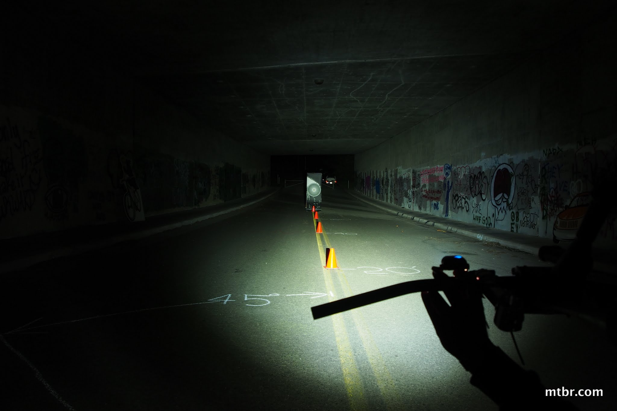 Lupine Piko 3 Tunnel Beam Pattern