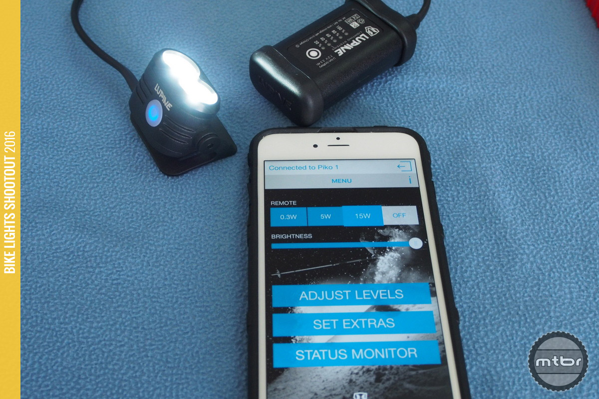 The new Piko 4 comes with a wireless Bluetooth remote switch and an iPhone app.