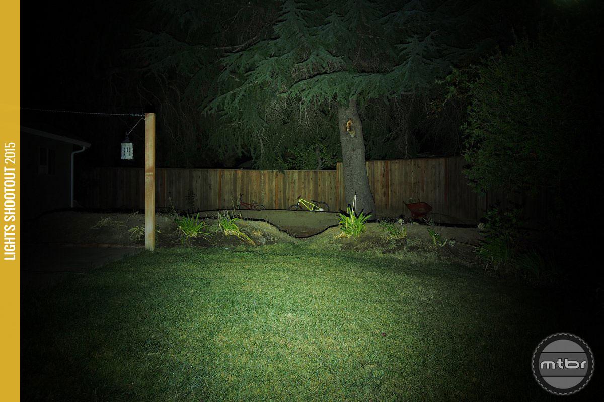 Lupine Piko 4 Backyard Beam Pattern