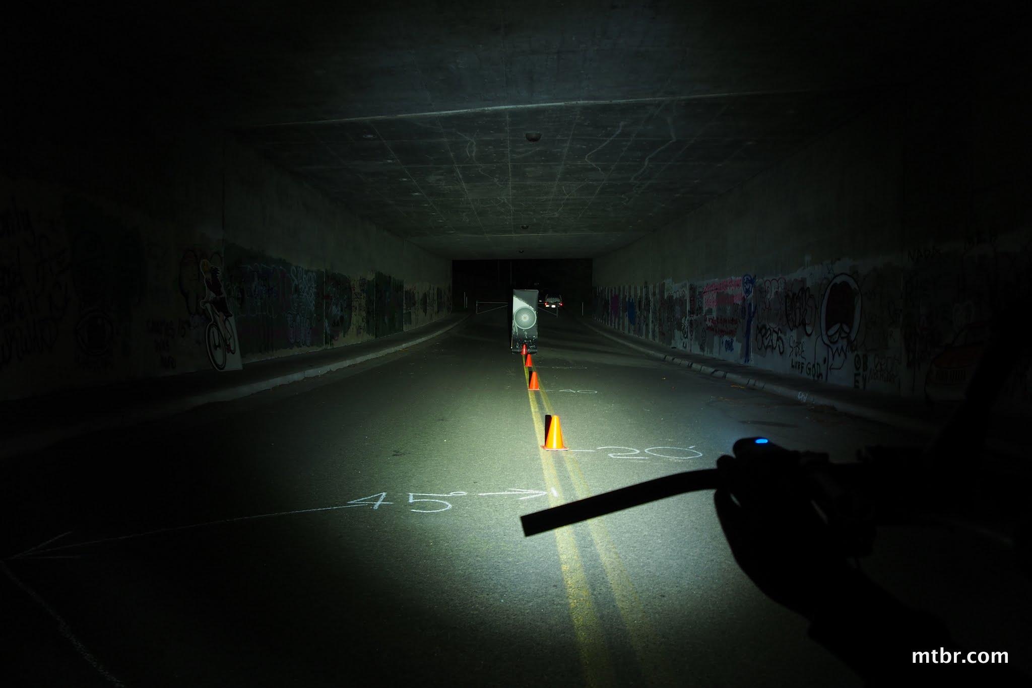Lupine Piko TL MiniMax Tunnel Beam Pattern