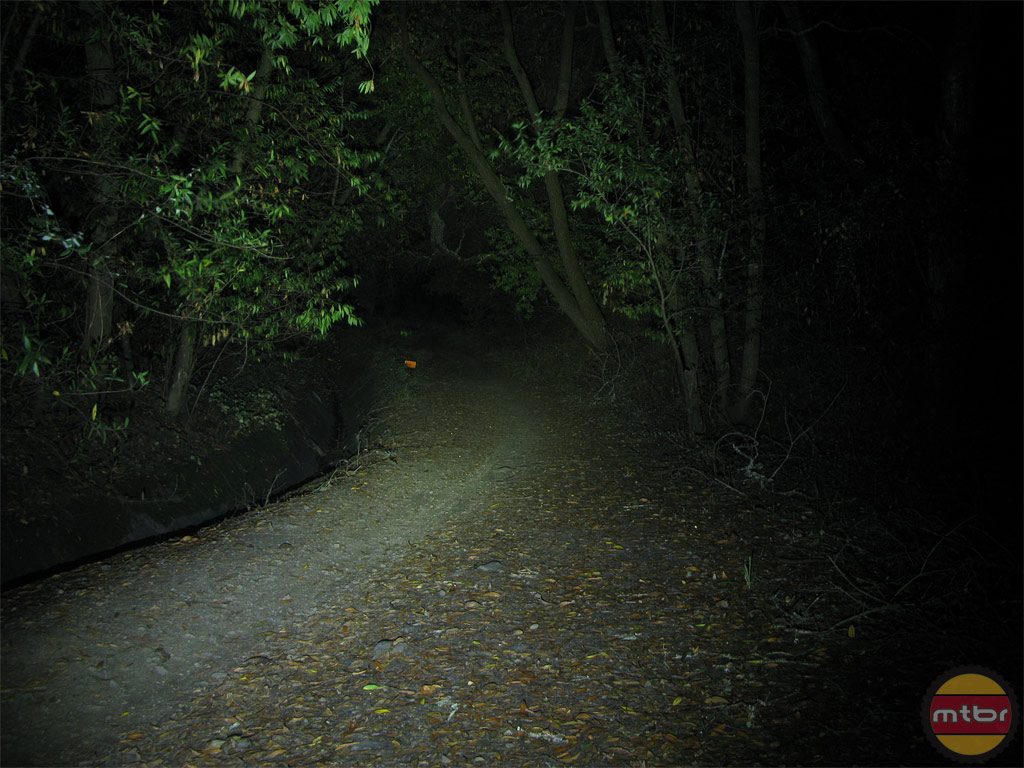 Lupine Piko TL Trail Beam Pattern