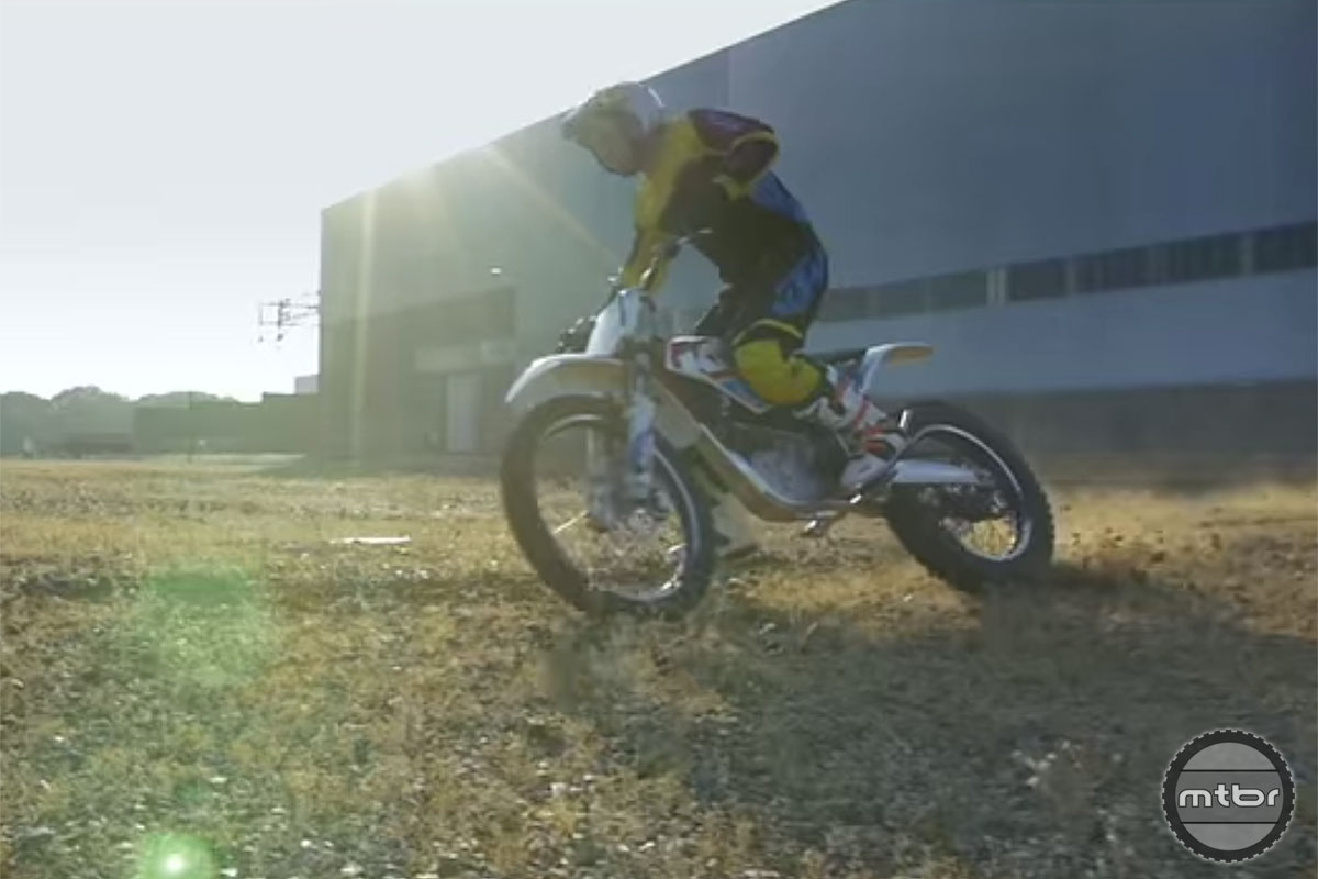 Danny MacAskill plugs-in for his latest edit, shot at a UK power plant.