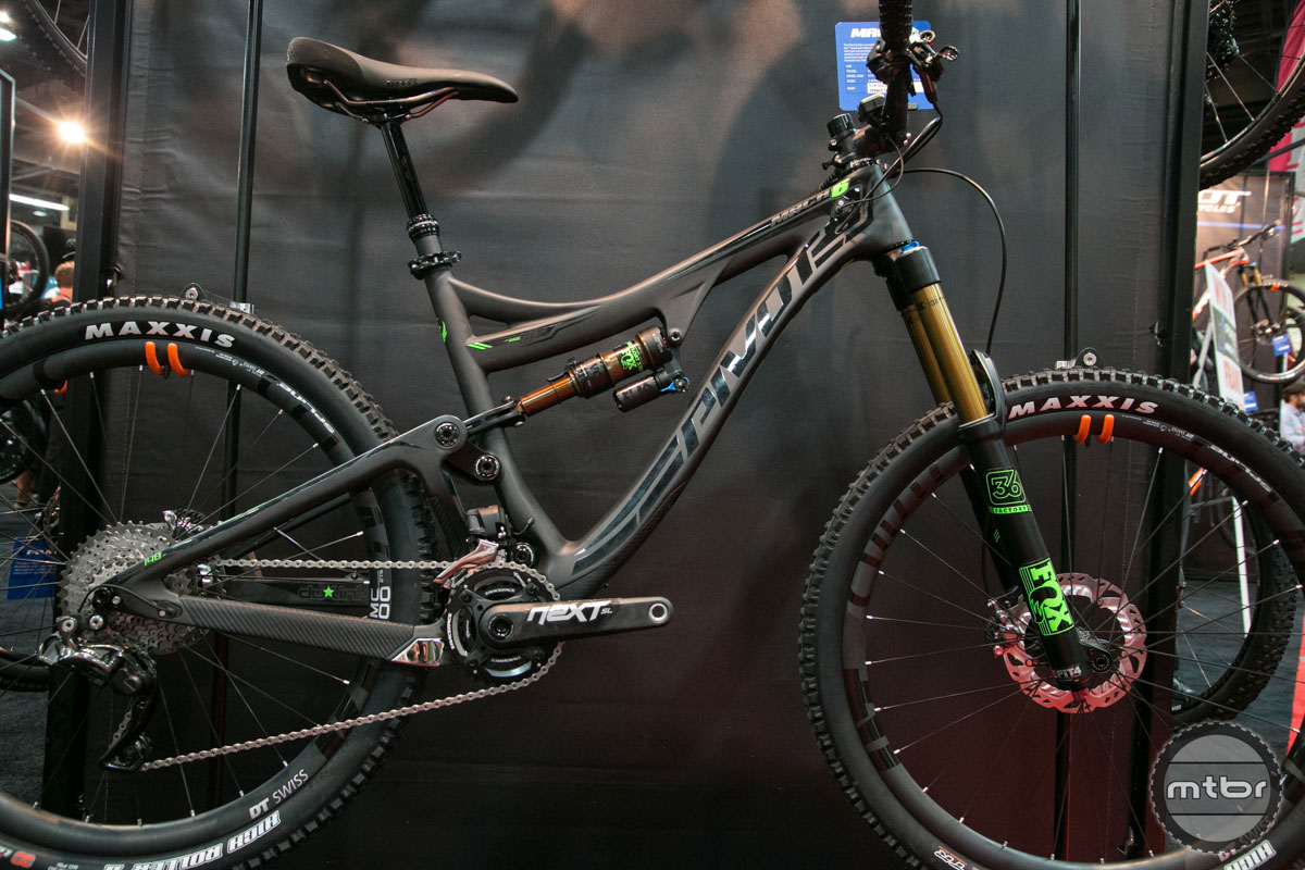 Versatile is the word used most often to describe this Dream Bike from Pivot Cycles.