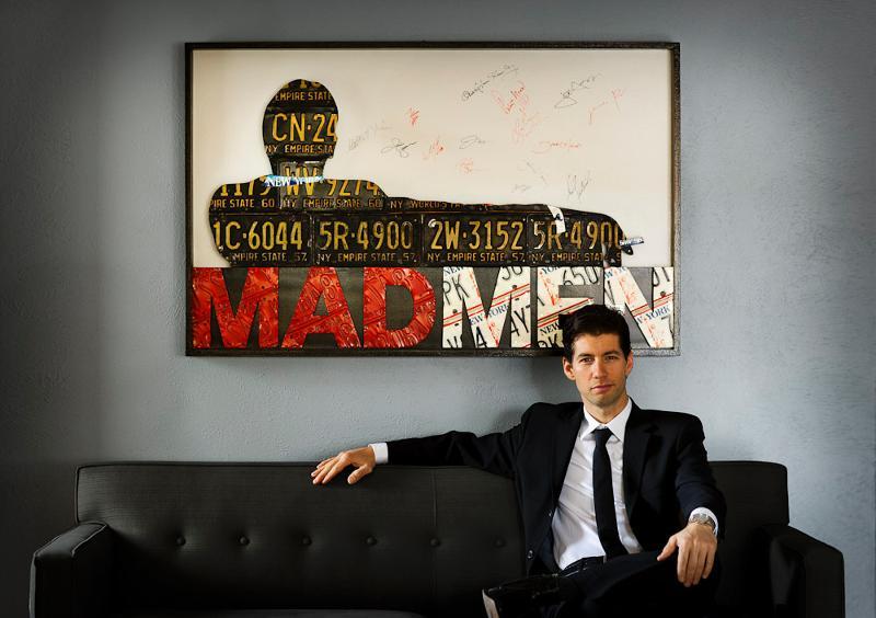 Fans ...  sc 1 st  Mtbr.com & Mad Men Art Auction to Benefit Trips for Kids - Mountain Bike Review ...