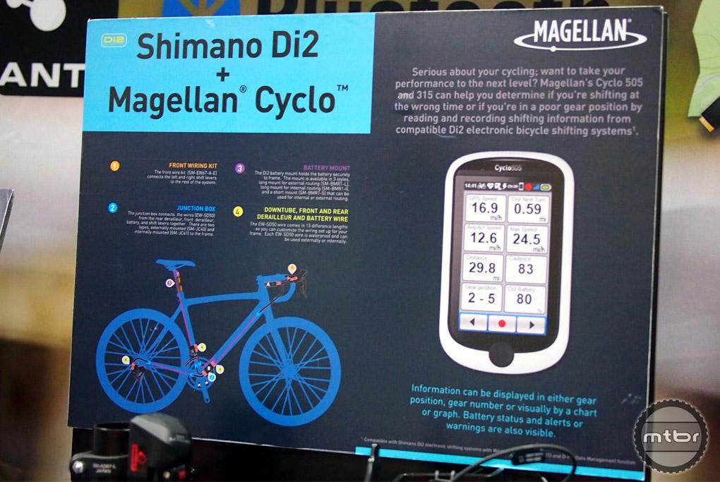 Magellan Cyclo + Shimano Di2