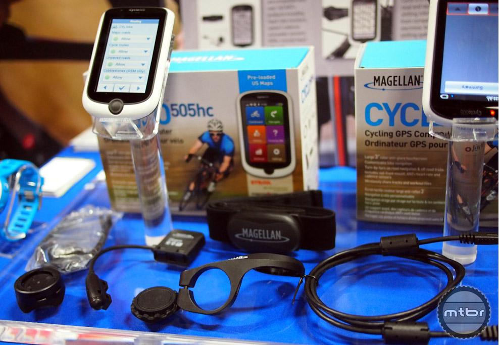 Magellan Cyclo 505 - accessories