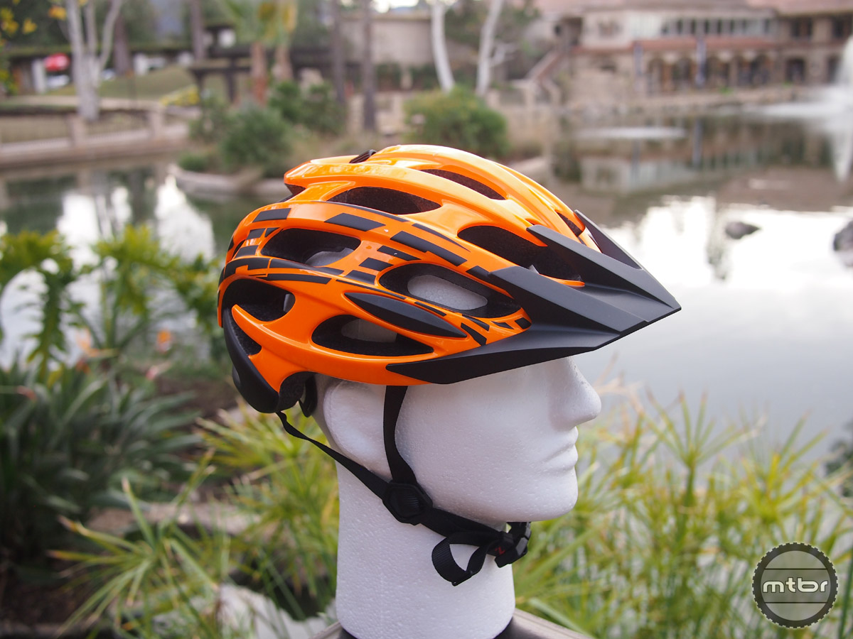 The Magma is an XC style helmet that has a twin road version called the Blade.