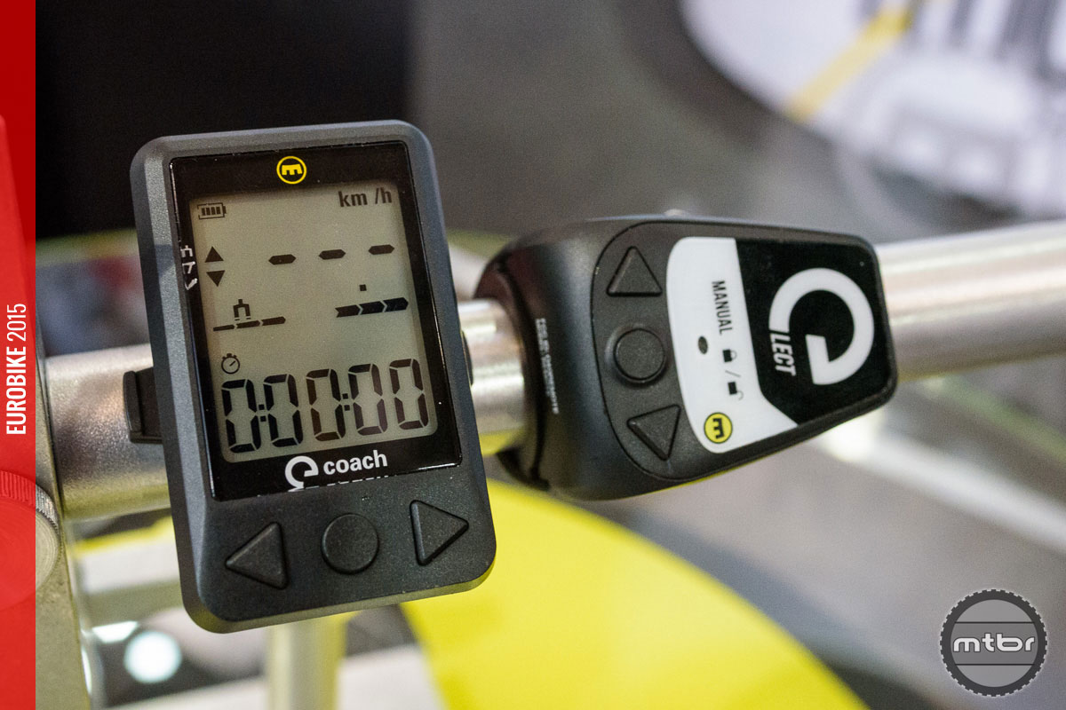 The Magura Coach displays your suspension status but can show you so much more.