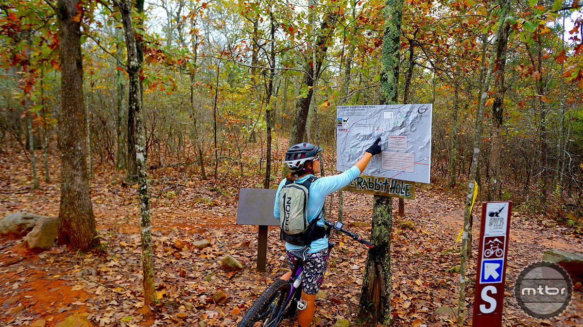 Significant effort was spent to create a system that provides a variety of experiences, maps make those experiences easily identifiable by trail users and makes navigating the intertwined network a breeze.