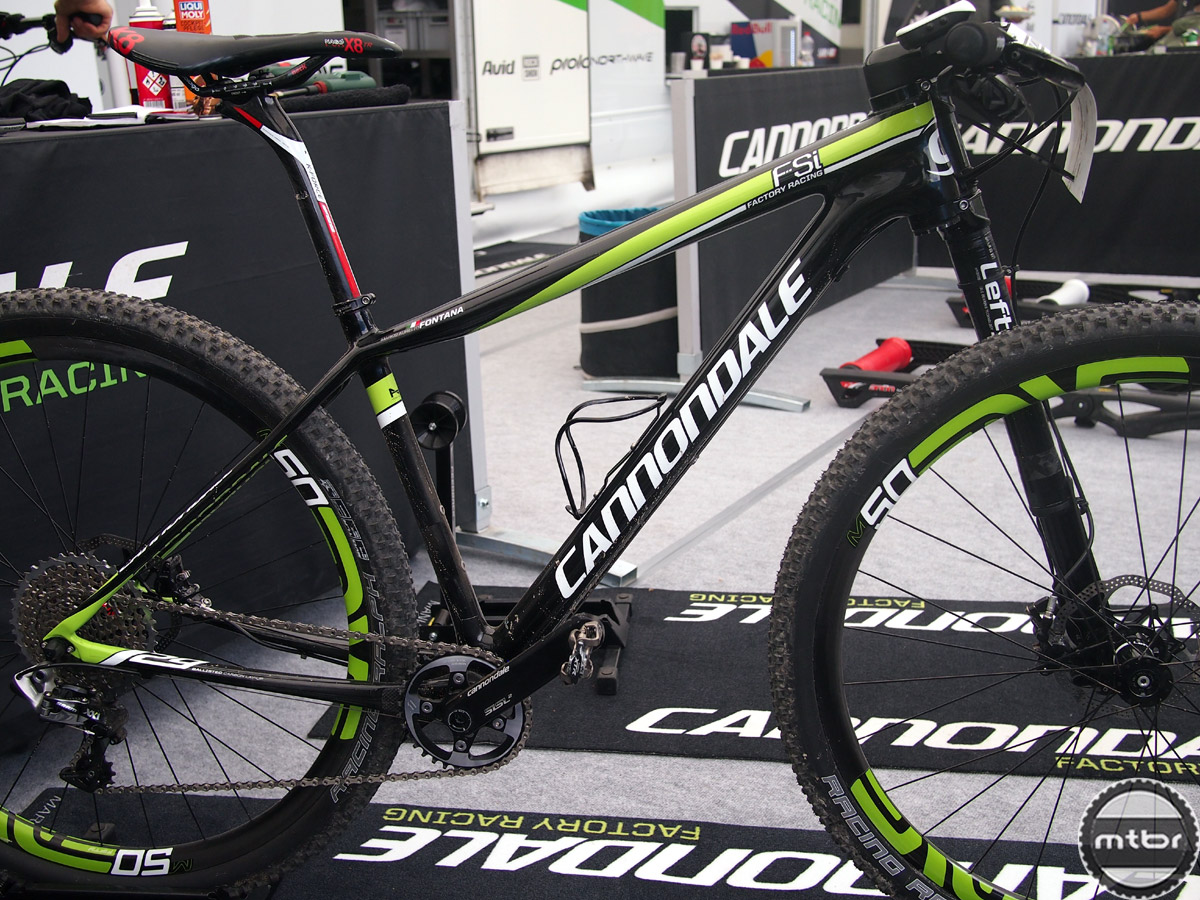 Cannondale World Cup race rig