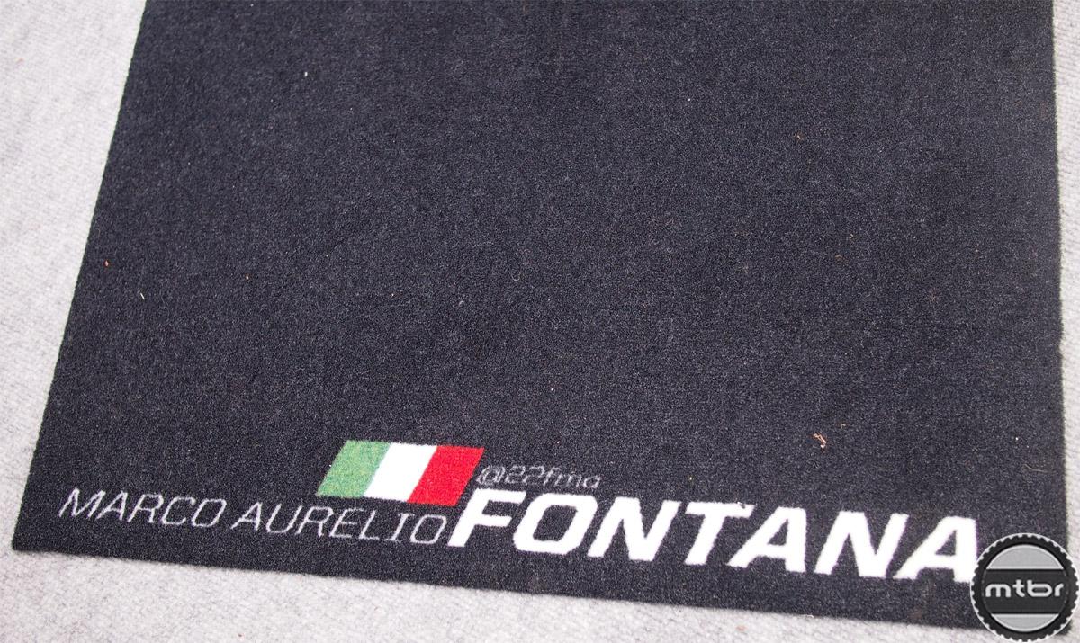 Fontana - custom mat
