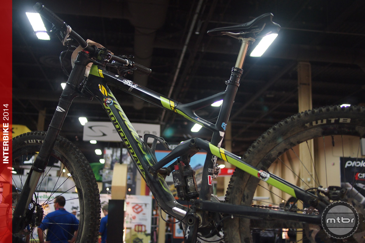 Marco Osborne's WTB equipped race bike