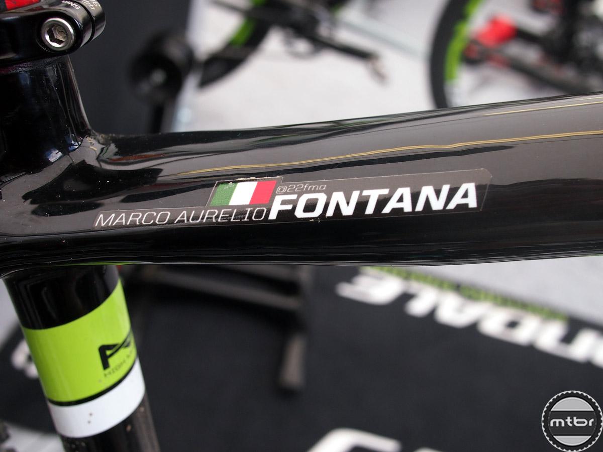Fontana - top tube