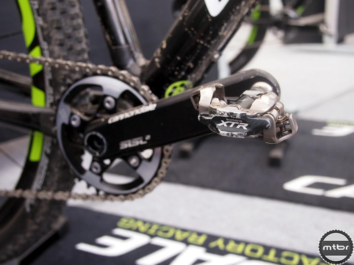 Fontana - XTR pedals