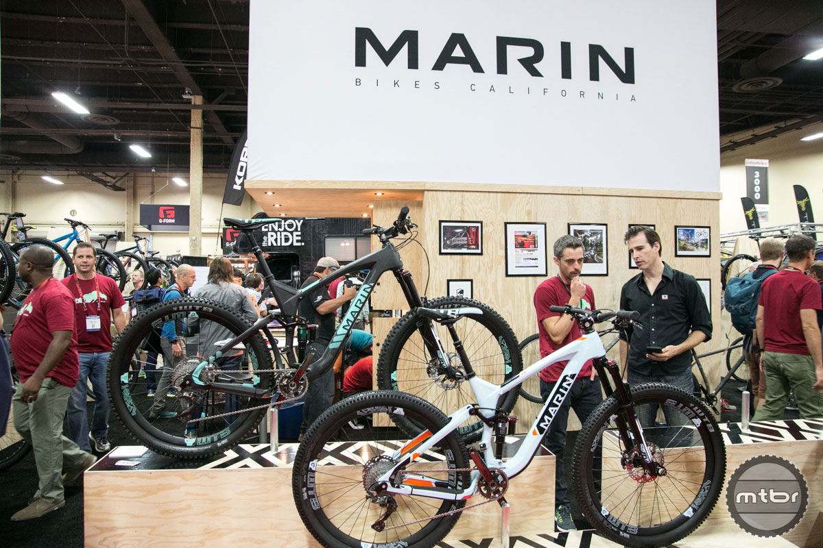 Marin Interbike 2015 Booth