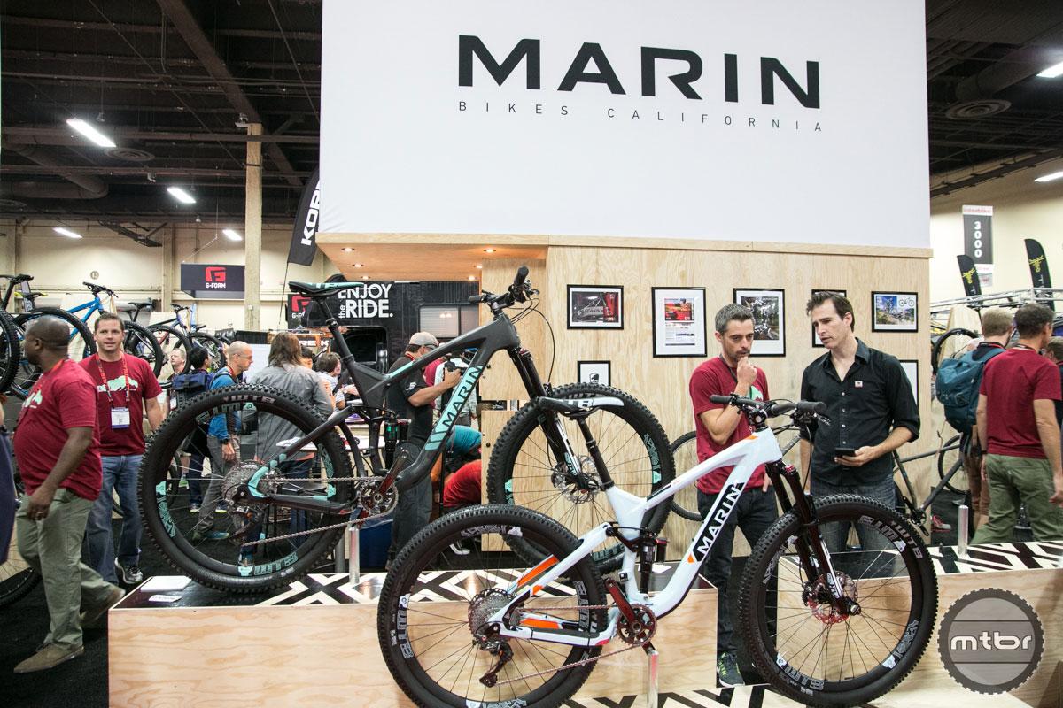Marin Interbike 2015 Booth