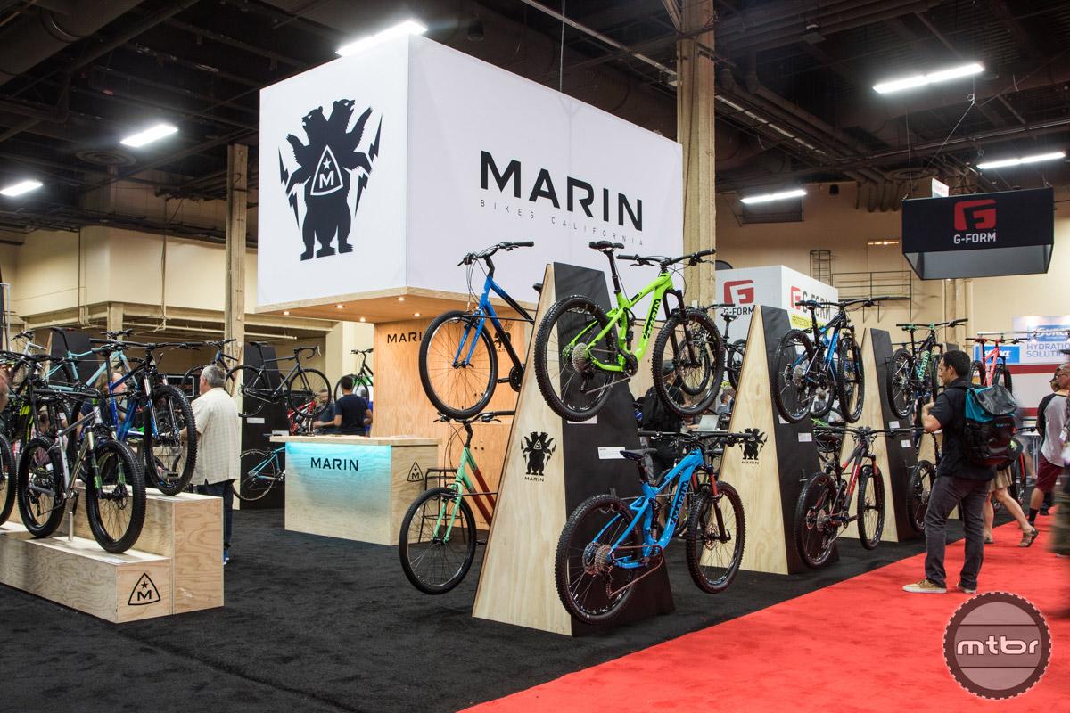 Marin Interbike 2016 Booth