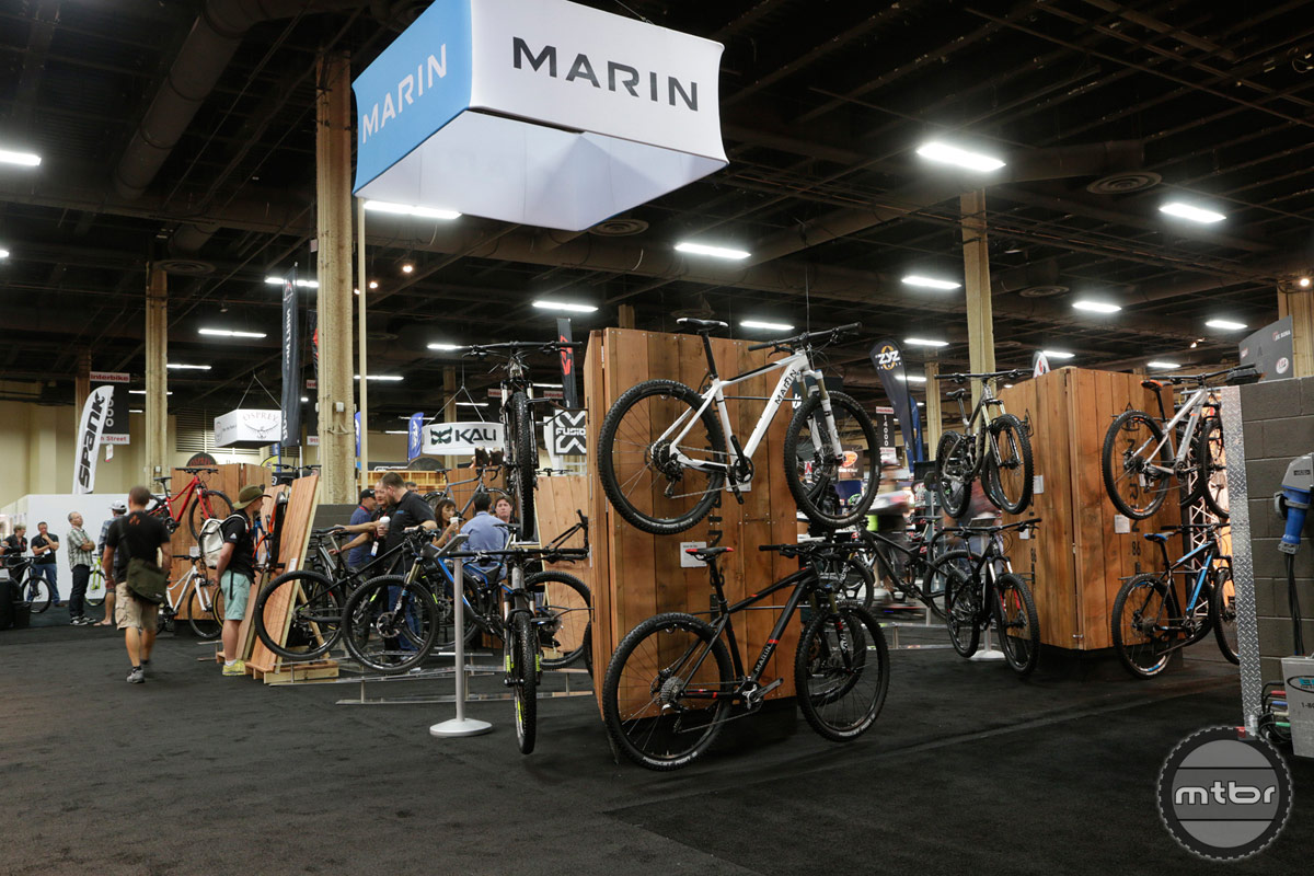 2014 Marin Interbike Booth