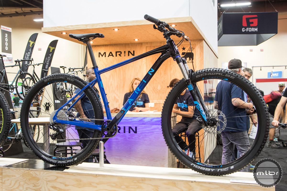 Marin Bikes Interbike 2016 - Mountain Bike Review- Mtbr.com