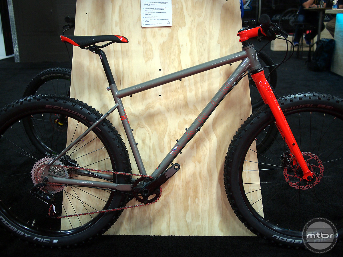 An amazing price for a Plus hardtail, the Marin Pine Mountain 1 is the most affordable brand name Plus bike on the market.
