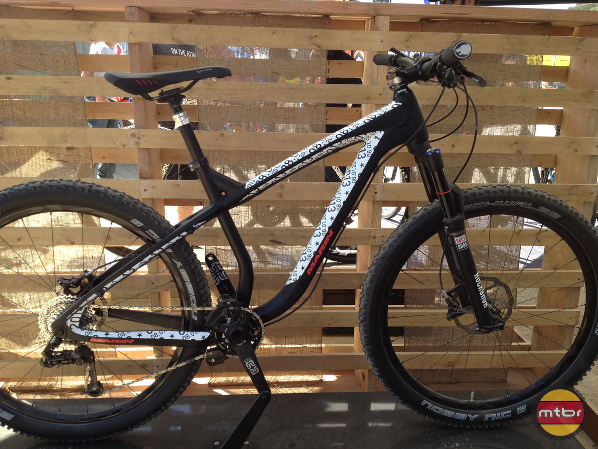 Marin Rocky Ridge trail hard tail 650b