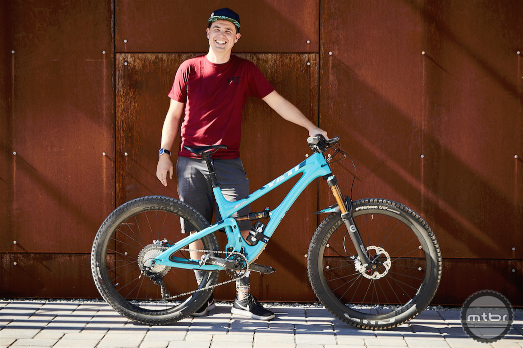 Art's Cyclery Bike Check: Mark's Yeti SB5